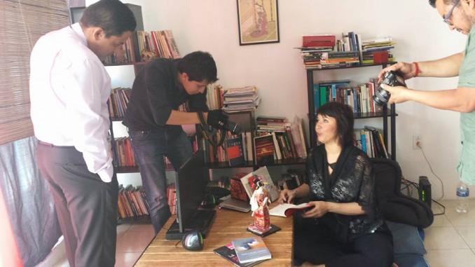Micronopio del Canal 22 dedica un capítulo a Cristina Rascón