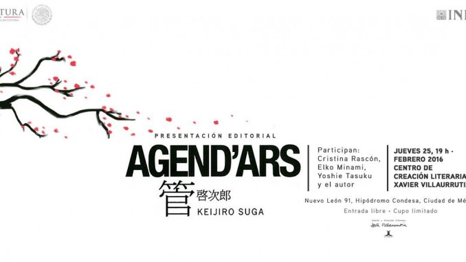 Presentación de Agend'Ars: poesía japonesa de Keijiro Suga